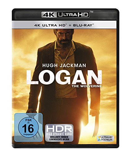 Logan: The Wolverine - 4K Ultra HD [UHD + Blu-ray Disc]