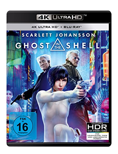 Ghost in the Shell 4K Blu-ray (UHD + Blu-ray Disc)