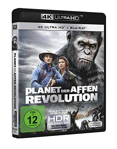 Planet der Affen: Revolution – Ultra HD Blu-ray [4k + Blu-ray Disc] - 2