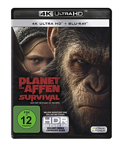 Planet der Affen: Survival - Ultra HD Blu-ray [4k + Blu-ray Disc]