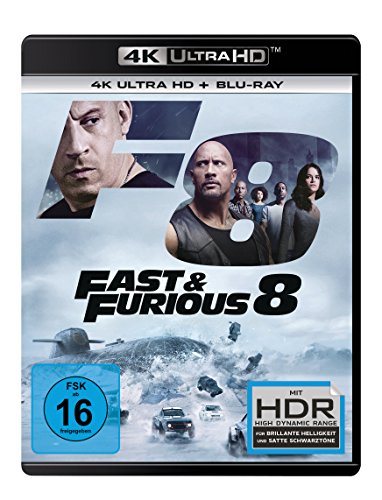 Fast & Furious 8 - Ultra HD Blu-ray [4k + Blu-ray Disc]