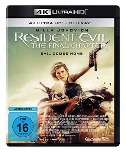 Resident Evil: The Final Chapter - Ultra HD Blu-ray [4k + Blu-ray Disc]