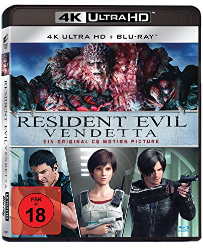 Resident Evil: Vendetta - 4K Ultra HD [UHD + Blu-ray Disc]