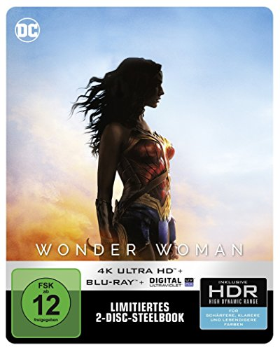 Wonder Woman (Steelbook) - 4K Ultra HD [UHD + Blu-ray Disc]