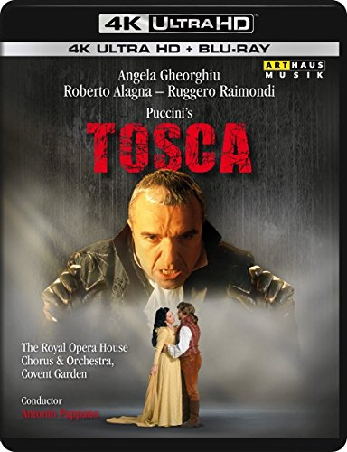 Puccini's Tosca - 4K Ultra HD [UHD + Blu-ray Disc]