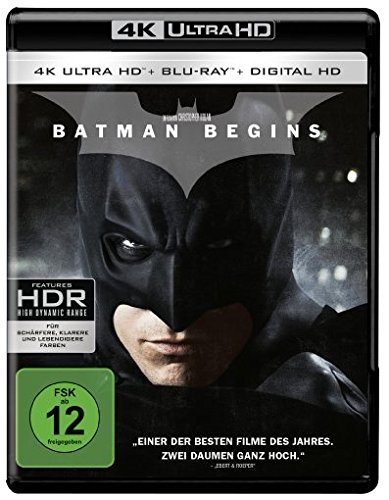 Batman Begins - Ultra HD Blu-ray [4k + Blu-ray Disc]