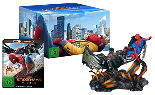 Spider-Man Homecoming - Figurine Spiderman vs. Vulture - Ultra HD Blu-ray [4k + Blu-ray Disc]