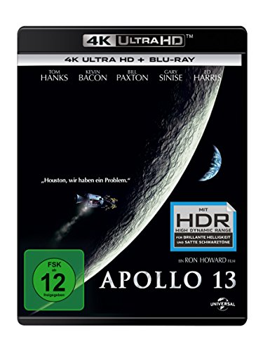Apollo 13 - 4K Ultra HD [UHD + Blu-ray Disc]