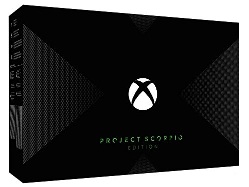Xbox One X (Project Scorpio Edition) - Ultra HD Blu-ray Disc Player