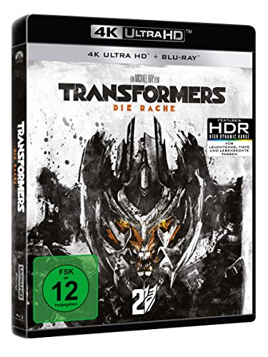 Transformers: Die Rache – Ultra HD Blu-ray [4k + Blu-ray Disc] - 2