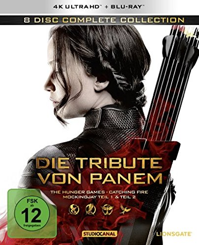 Die Tribute von Panem (Complete Collection) - 4K Ultra HD [UHD + Blu-ray Disc]