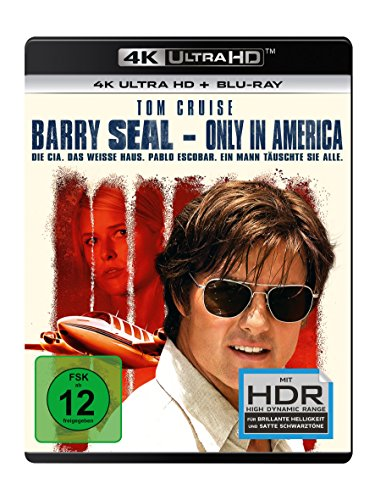 Barry Seal: Only in America - 4K Blu-ray (UHD + Blu-ray Disc)