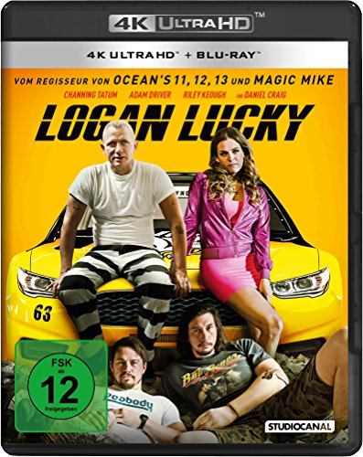 Logan Lucky - Ultra HD Blu-ray [4k + Blu-ray Disc]