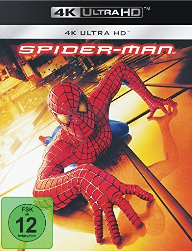 Spider-Man 1 (2002) - 4k Ultra HD Blu-ray