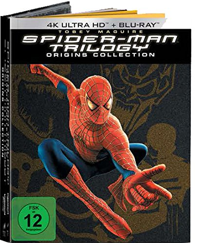 Spider-Man 1-3 (Origins Collection - 7 Discs Version) - Ultra HD Blu-ray [4k + Blu-ray Disc]