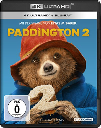 Paddington 2 - Ultra HD Blu-ray [4k + Blu-ray Disc]