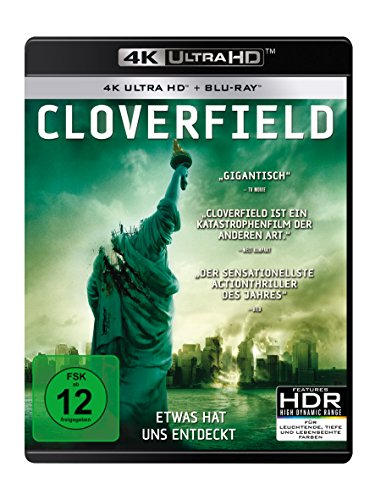 Cloverfield - Ultra HD Blu-ray [4k + Blu-ray Disc]