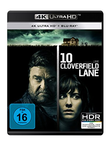 10 Cloverfield Lane - Ultra HD Blu-ray [4k + Blu-ray Disc]