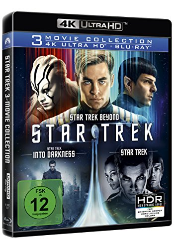 Star Trek – 3-Movie Collection – Ultra HD Blu-ray [4k + Blu-ray Disc] - 2