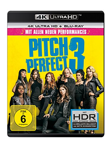 Pitch Perfect 3 - 4K Ultra HD [UHD + Blu-ray Disc]