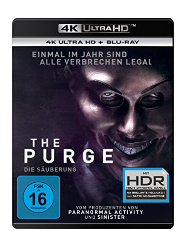The Purge 1: Die Säuberung - 4K Ultra HD [UHD + Blu-ray Disc]