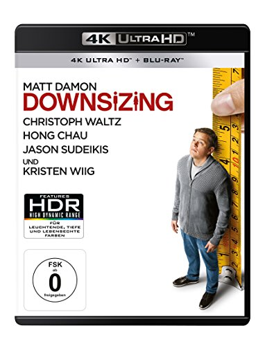 Downsizing - Ultra HD Blu-ray [4k + Blu-ray Disc]