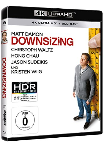 Downsizing – Ultra HD Blu-ray [4k + Blu-ray Disc] - 2