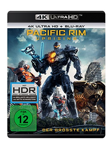 Pacific Rim 2: Uprising - 4K Ultra HD [UHD + Blu-ray Disc]