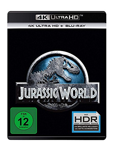 Jurassic World - 4K Ultra HD [UHD + Blu-ray Disc]