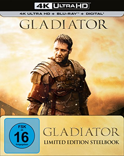 Gladiator (Steelbook) - Ultra HD Blu-ray [4k + Blu-ray Disc]