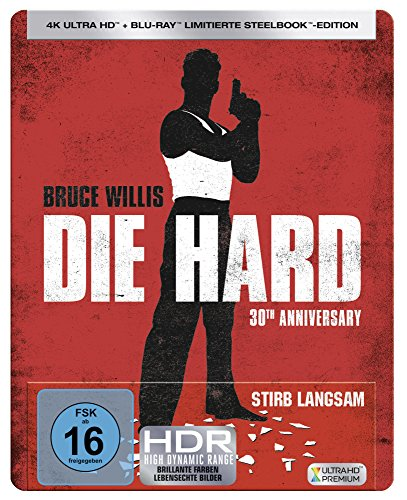 Stirb Langsam (Steelbook) (30th Anniversary Edition) - Ultra HD Blu-ray [4k + Blu-ray Disc]