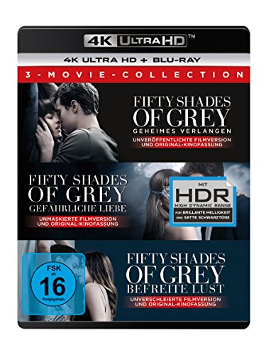 Fifty Shades of Grey Trilogie (3 Movie Set) - Ultra HD Blu-ray [4k + Blu-ray Disc]