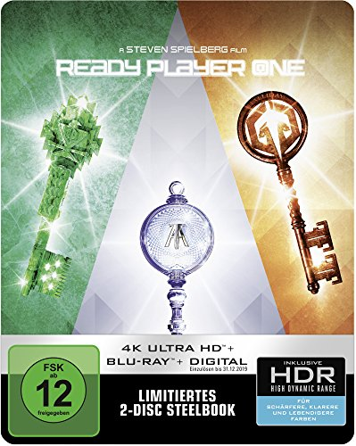Ready Player One (Steelbook) - 4K Ultra HD [UHD + Blu-ray Disc]