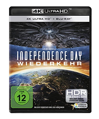 Independence Day 2: Wiederkehr - 4K Ultra HD [UHD + Blu-ray Disc]