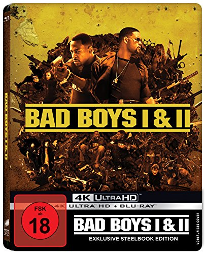 Bad Boys - Harte Jungs & Bad Boys 2 (Steelbook) - 4K Ultra HD [UHD + Blu-ray Disc]