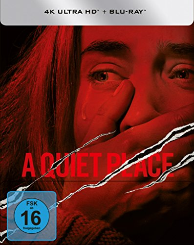 A Quiet Place (Steelbook) - 4K Ultra HD [UHD + Blu-ray Disc]