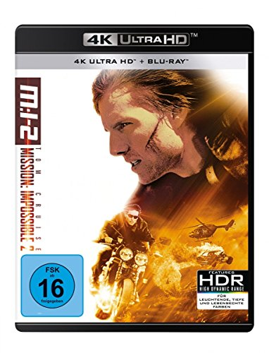 M:I-2 - Mission: Impossible 2 - Ultra HD [4k + Blu-ray Disc]