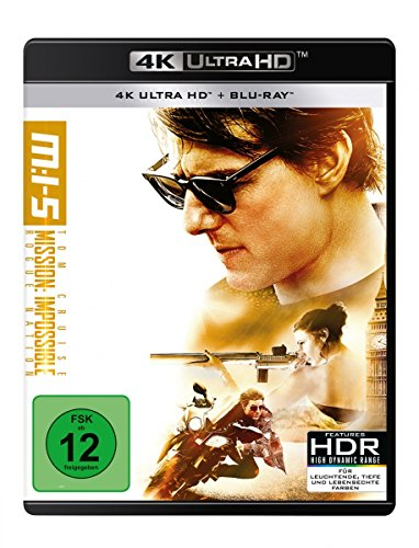 Mission: Impossible 5 - Rogue Nation - Ultra HD Blu-ray [4k + Blu-ray Disc]