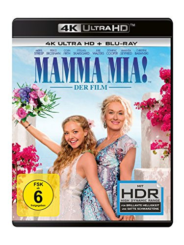 Mamma Mia! - Der Film - Ultra HD Blu-ray [4k + Blu-ray Disc]