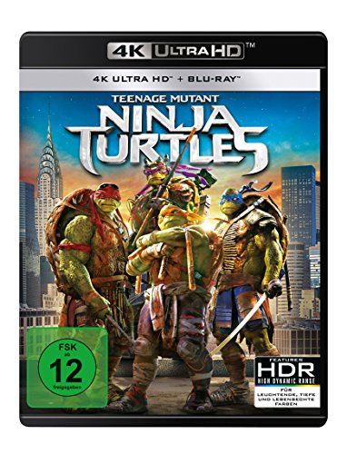 Teenage Mutant Ninja Turtles - 4K Ultra HD [UHD + Blu-ray Disc]