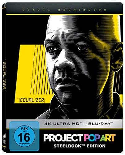 The Equalizer (Steelbook) - Ultra HD Blu-ray [4k + Blu-ray Disc]