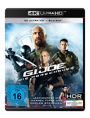 G.I. Joe - Die Abrechnung - Extended Cut - 4K Ultra HD [UHD + Blu-ray Disc]