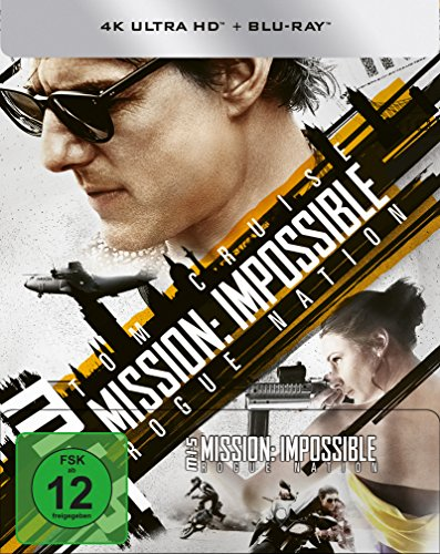 Mission: Impossible 5 - Rogue Nation - 4K Steelbook (UHD + Blu-ray Disc)