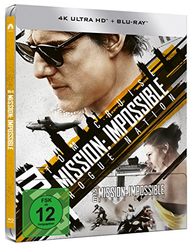 Mission: Impossible 5 – Rogue Nation (Steelbook) – Ultra HD Blu-ray [4k + Blu-ray Disc] - 2