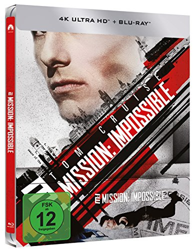 Mission: Impossible 1 (Amazon exklusives Steelbook) – Ultra HD [4k + Blu-ray Disc] - 2