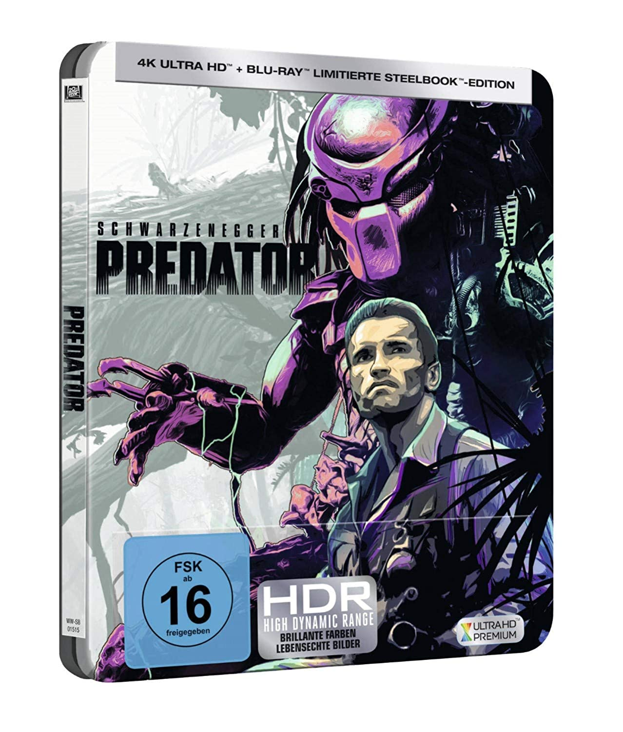 Predator (Steelbook) - Ultra HD Blu-ray [4k + Blu-ray Disc]