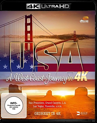 USA: A West Coast Journey in 4K - 4k Ultra HD Blu-ray