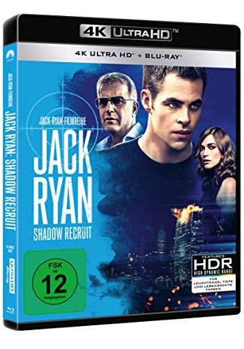 Jack Ryan: Shadow Recruit – Ultra HD Blu-ray [4K + Blu-ray Disc] - 2