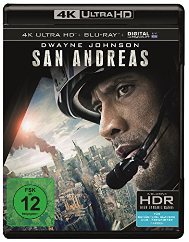 San Andreas - 4K Ultra HD [UHD + Blu-ray Disc]