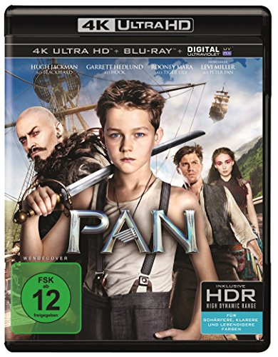 Pan - Ultra HD Blu-ray [4k + Blu-ray Disc]